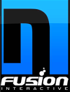 N-Fusion Interactive Sticky Logo